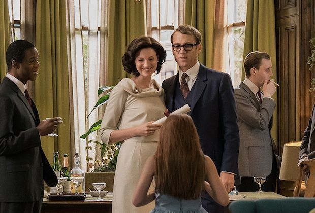 Claire and Frank Randall